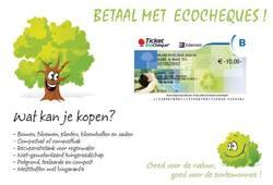 Betalen met ecocheques!