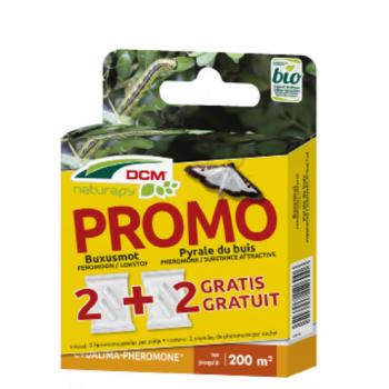 DCM PROMOPACK 2+2 GRATIS Feromoon Buxusmot - Cydalima-Pheromone®