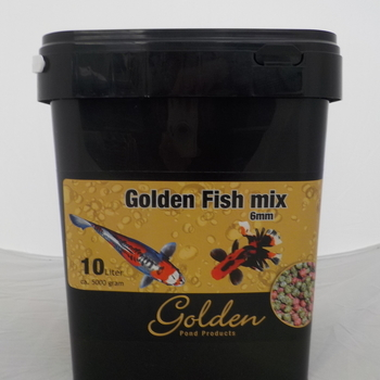 Golden fish mix 6mm 10l