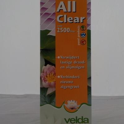 All clear powder 250ml
