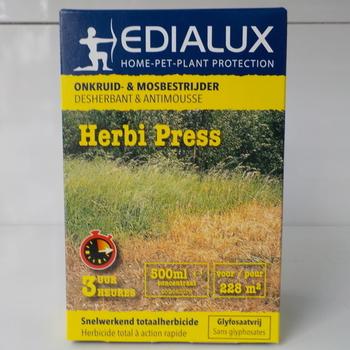 herbi press 'onkruid en mosbestrijder' 500ml