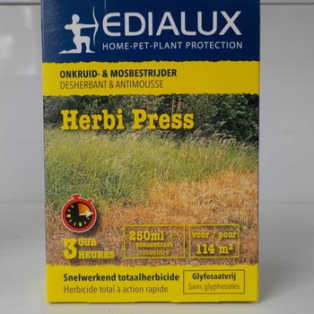herbi press ' onkruid en mosbestrijder' 250ml
