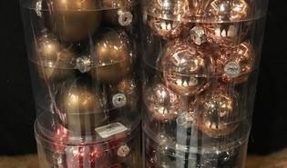 Kerstballen ⌀8cm - 9 stuks