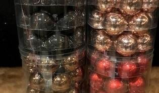 Kerstballen ⌀6cm - 18 stuks