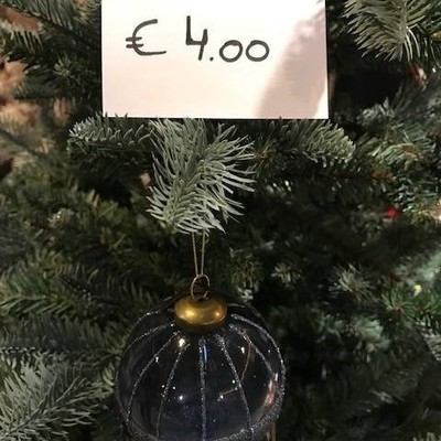 Kerstbal luxe D