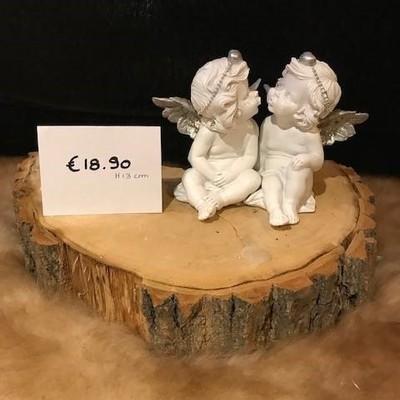 Engelen zittend 13cm