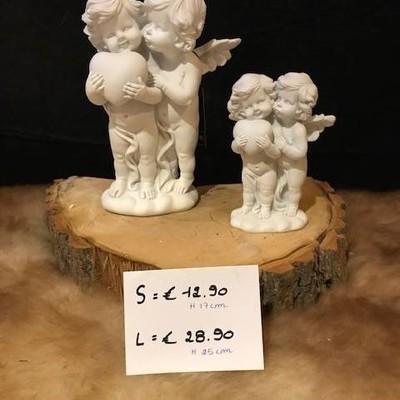 Engelen hart 17cm