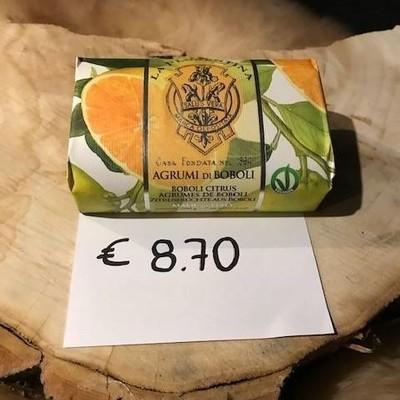 Handgemaakte zeep agrum 200g