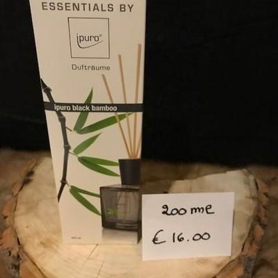 Geurverspreider black bamboo 200ml
