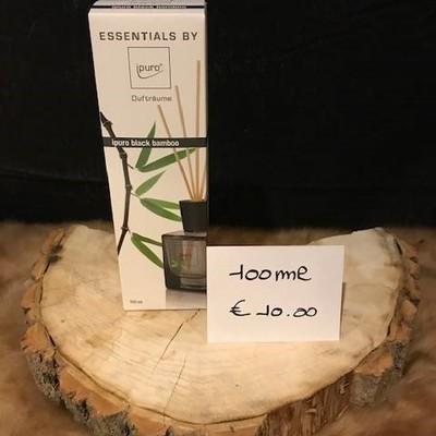 Geurverspreider black bamboo 100ml