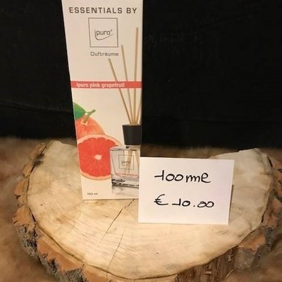 Geurverspreider pink grapefruit 100ml