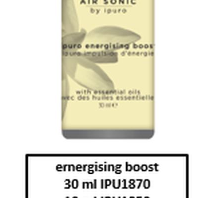 Air Sonic vulling energising boost 30ml