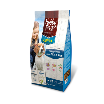 Canex Puppy/Junior High in Fish & Rice - 12kg