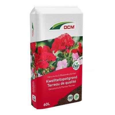 Potgrond geraniums & bloeiende planten 60L