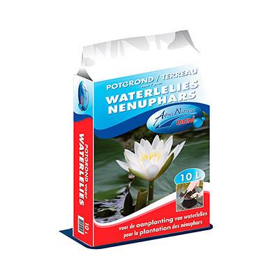 Potgrond voor waterlelies 10L