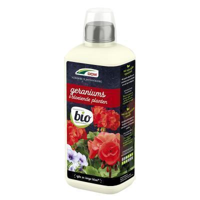 Vloeibare meststof geraniums & bloeiende planten 0,8L