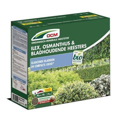 Meststof Ilex, Osmanthus & bladhoudende heesters 3kg