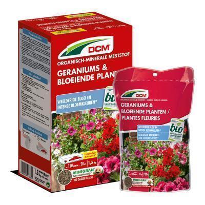 Meststof geraniums & bloeiende planten 750g