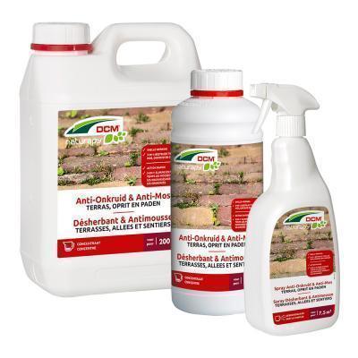 Anti-onkruid & anti-mos - terras, oprit en paden 2,5L klaar voor gebruik