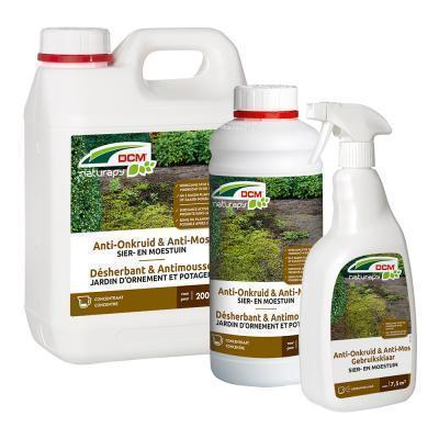 Anti-onkruid & anti-mos sier- en moestuin 2,5L klaar voor gebruik