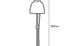 LED-kweeklamp Leaf Light Care 36cm-1m