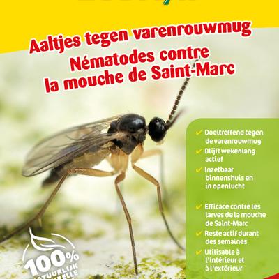 Aaltjes tegen larven varenrouwmug 15 miljoen / 15 m²