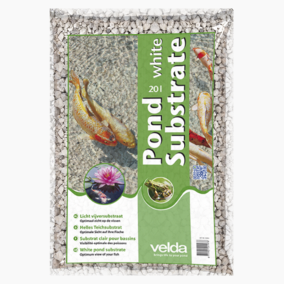 Pond Substrate White 13kg / 20L