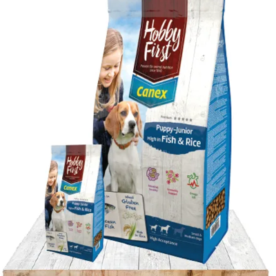 Canex Puppy/Junior High in Fish & Rice - 3kg