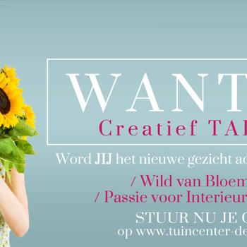 Bloemist M/V Halftime Weekendwerk - Creatief Talent gezocht !